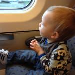 Junassa on hauska matkustaa…
