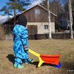 Päikkärisirkusta ja kotipihalla möyrimistä