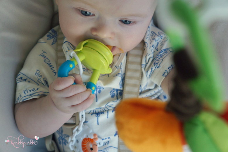 vauvan ekat maistelut