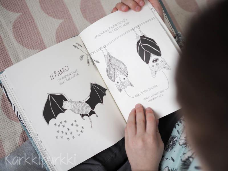 eläinkirja lapsille