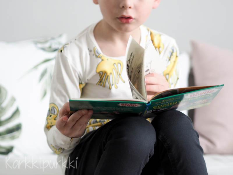 reuhurinne lastenkirjat