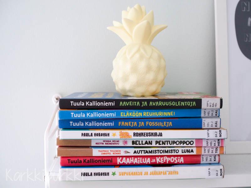 kirjoja ekaluokkalaiselle